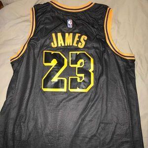 new style 0c6e8 0d806 Stitched Lebron James jersey mamba nights NWT